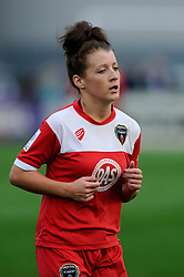 Bristol Academy's Angharad James - Photo mandatory by-line: Dougie Allward/JMP - Mobile: 07966 386802 - 20/09/2014 - SPORT - FOOTBALL - Bristol - SGS Wise Campus - BAWFC v Arsenal Ladies - FA Womens Super League