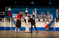 Anything Goes dress rehearsal with Gilford Middle School.  Karen Bobotas for the Laconia Daily Sun