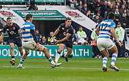 George Ford in action, England v Argentina in an Old Mutual Wealth Series, Autumn International match at Twickenham Stadium, London, England, on 26th November 2016. Full Time score 27-14