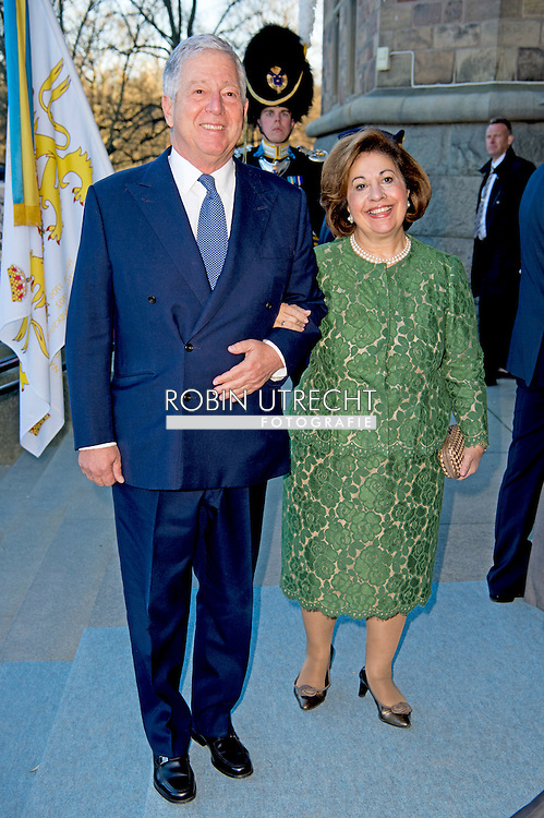 29-4-2016 STOCKHOLM -Crown Prince Alexander and Crown Princess Katherine of Serbia   The Royal Swedish Opera and Stockholm Concert Hall will give a concert &ndash; The Nordic Museum, Arrival of guests. celebration of The King&rsquo;s 70th birthday  King Carl Gustaf, Queen Silvia, Crown Princess Victoria, Prince Daniel, Prince Carl Philip, Princess Madeleine and Chris O&rsquo;Neill arrive at the Nordic museum for the concert by the Royal Swedish Opera and Stockholm Concert on the occasion of the 70th birthday of The Swedish King in Stockholm, Sweden, 29 April 2016 COPYRIGHT ROBIN UTRECHT<br /> 29-4-2016 STOCKHOLM - De Scandinavische Museum, Aankomst van de gasten - De Koninklijke Zweedse opera en Stockholm Concert Hall zal een concert geven. viering van The King's 70ste verjaardag van koning Carl Gustaf, Koningin Silvia, kroonprinses Victoria, Prins Daniel, prins Carl Philip, prinses Madeleine en Chris O'Neill komen op de Nordic museum voor het concert van de Koninklijke Zweedse opera en Stockholm Concert ter gelegenheid van de 70ste verjaardag van de Zweedse koning in Stockholm, Zweden, 29 april 2016 COPYRIGHT ROBIN UTRECHT
