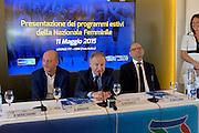DESCRIZIONE : Nazionale Femminile Media Day 2015<br /> GIOCATORE : Gianni Petrucci Binaghi Ricchini<br /> CATEGORIA : nazionale femminile senior <br /> SQUADRA : Nazionale Femminile<br /> EVENTO : Media Day 2015 Nazionale Femminile<br /> GARA : Media Day Nazionale Femminile 2015<br /> DATA : 11/05/2015<br /> SPORT : Pallacanestro <br /> AUTORE : Agenzia Ciamillo-Castoria