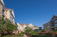 Building exterior image of Post Fallsgrove apartments in Rockville MD by Jeffrey Sauers of Commercial Photographics