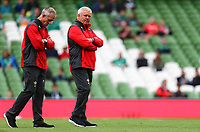 Rugby Union - 2019 pre-Rugby World Cup warm-up (Guinness Summer Series) - Ireland vs. Wales<br /> <br /> Wales Head Coach, Warren Gatland, before the game at The Aviva Stadium.<br /> <br /> COLORSPORT/KEN SUTTON