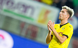 Kevin Kampl of Borussia Dortmund after the football match between WAC Wolfsberg (AUT) and  Borussia Dortmund (GER) in First leg of Third qualifying round of UEFA Europa League 2015/16, on July 30, 2015 in Wörthersee Stadion, Klagenfurt, Austria. Photo by Vid Ponikvar / Sportida
