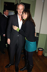 ANTON BILTON and his wife LISA B at a party to celebrate the publication of Style by interior designer Kelly Hoppen held at 50 Cheyne Walk, London on 10th November 2004.<br /><br />NON EXCLUSIVE - WORLD RIGHTS