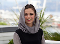 Actress Marzieh Rezaei at the Three Faces (3 Visages / Se Rokh) film photo call at the 71st Cannes Film Festival, Sunday 13th May 2018, Cannes, France. Photo credit: Doreen Kennedy