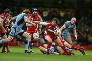 Cardiff Blues v Gloucester, Heineken cup match at the Millennium Stadium in Cardiff on 19/10/2008.