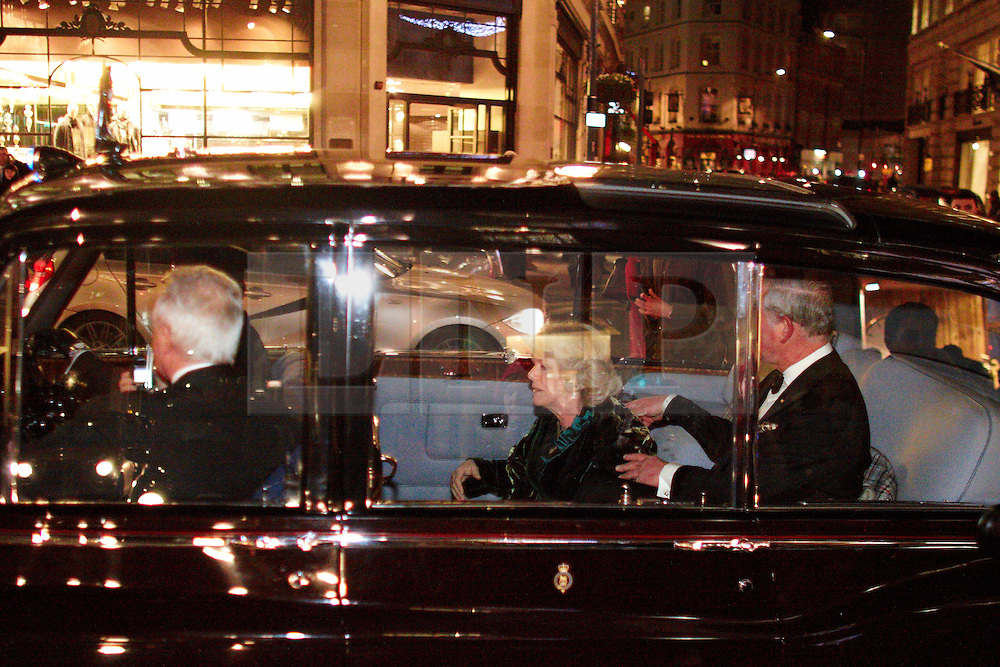 © under license to London News Pictures. London. UK. 15/07/11. The son of Pink Floyd guitarist David Gilmour was jailed for 16 months today for going on a drink and drug-fuelled rampage at a student fees protest. FILE PICTURES DATED: 09/12/2010.  Camilla, Duchess of Cornwall and Prince Charles are pictured as student protesters surround the royal couple's car in Regent Street, London,  on 09 December 2010. The Rolls Royce carrying the couple was splattered with paint and a window is smashed. Photo credit should read Cliff Hide/LNP.
