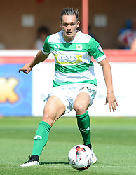 Yeovil Town's Connor Roberts - Photo mandatory by-line: Harry Trump/JMP - Mobile: 07966 386802 - 08/08/15 - SPORT - FOOTBALL - Sky Bet League Two - Exeter City v Yeovil Town - St James Park, Exeter, England.