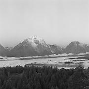 Dawn Mount Moran And Jackson Lake, Grand Teton Natioanl Park, WY