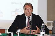 BOLOGNA 27 MAGGIO 2010 <br /> BASKET FINAL UNDER 19<br /> NELLA FOTO  Dino Meneghin<br /> FOTO CIAMILLO