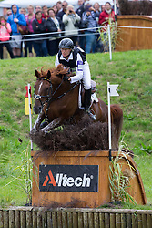 Sandra Auffarth, (GER), Opgun Louvo - Eventing Cross Country test - Alltech FEI World Equestrian Games™ 2014 - Normandy, France.<br /> © Hippo Foto Team - Shannon Brinkman<br /> 31/08/14