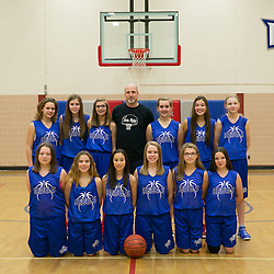 Moose Lake/Willow River Jr. High girls basketball 2015