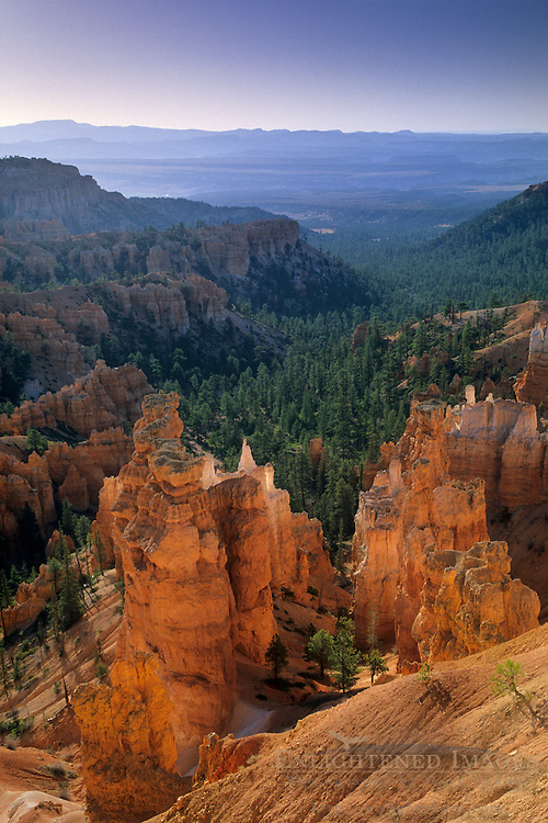 Morning light over Bryce Canyon, from Sunset Point, Bryce Canyon National Park, UTAH