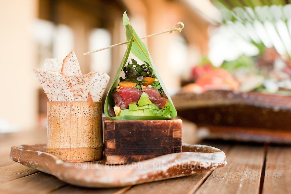 "Scottsdale's Roka Akor features Robatayaki style ""open charcoal"" cuisine. They specialize in prime steak and sushi and were voted one of the Top 10 Sushi Spots in the United States by Bon Appetit. Pictured is the tuna tartare...Roka Akor is located at 7299 North Scottsdale Road  Paradise Valley, AZ 85253"