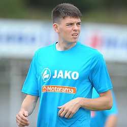 TELFORD COPYRIGHT MIKE SHERIDAN Doug Tharme of AFC Telford during the National League North fixture between Kettering Town and AFC Telford United at Latimer Park on Saturday, August 3, 2019<br /> <br /> Picture credit: Mike Sheridan<br /> <br /> MS201920-005