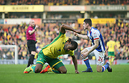 Norwich City v Blackburn Rovers 11/003/2017