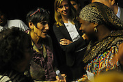 United States Congresswoman Rosa DeLauro, 69, a Democrat representing Connecticut's Third district. She is currently in her eleventh term, having been in Congress for twenty one years...DeLauro at a development conference aimed at improving child birth mortality in the developing world, an issue close to her heart.