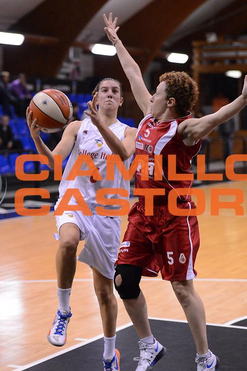 DESCRIZIONE : Roma Basket Campionato Italiano Femminile serie B 2012-2013<br />  College Italia  Gruppo L.P.A. Ariano Irpino<br /> GIOCATORE : Chiabotto Elisa<br /> CATEGORIA : penetrazione<br /> SQUADRA : College Italia<br /> EVENTO : College Italia 2012-2013<br /> GARA : College Italia  Gruppo L.P.A. Ariano Irpino<br /> DATA : 03/11/2012<br /> CATEGORIA : palleggio<br /> SPORT : Pallacanestro <br /> AUTORE : Agenzia Ciamillo-Castoria/GiulioCiamillo<br /> Galleria : Fip Nazionali 2012<br /> Fotonotizia : Roma Basket Campionato Italiano Femminile serie B 2012-2013<br />  College Italia  Gruppo L.P.A. Ariano Irpino<br /> Predefinita :
