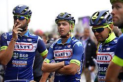 July 13, 2017 - Pau, France - Peyragudes, France - July 13 : VANSPEYBROUCK Pieter of Wanty - Groupe Gobert, SMITH Dion of Wanty - Groupe Gobert  during stage 12 of the 104th edition of the 2017 Tour de France cycling race, a stage of 214.5 kms between Pau and Peyragudes on July 13, 2017 in Peyragudes, France, 13/07/2017 (Credit Image: © Panoramic via ZUMA Press)