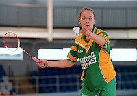 20 Aug 2016:  Kaythlin Goulding, from Offaly.   Badminton U15 Girls.   2016 Community Games National Festival 2016.  Athlone Institute of Technology, Athlone, Co. Westmeath. Picture: Caroline Quinn