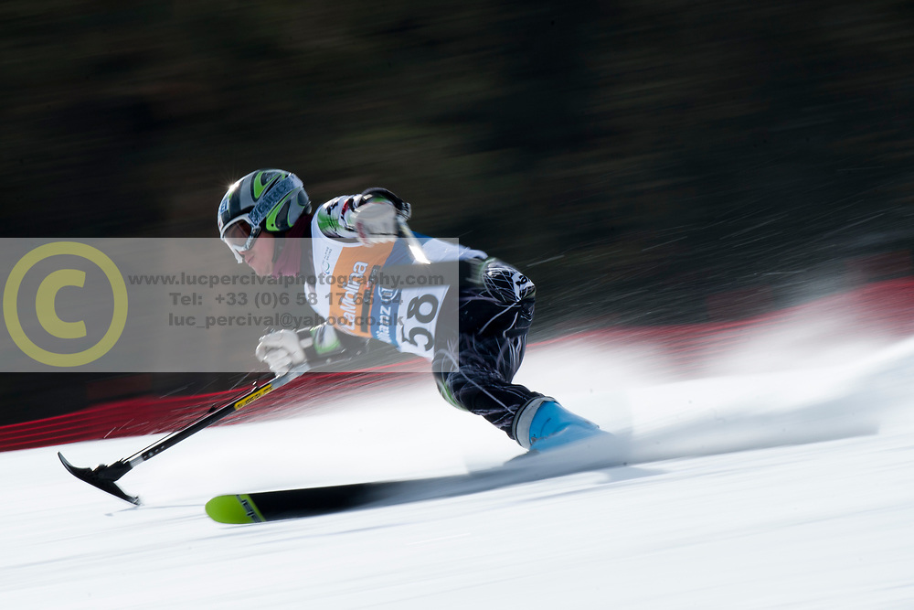 MISAWA Hiraku, JPN, Super Combined, 2013 IPC Alpine Skiing World Championships, La Molina, Spain