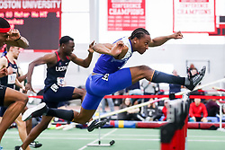 ECAC/IC4A Track and Field Indoor Championships<br /> 60 meter hurdles, Dylan Beard, Hampton