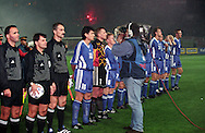 14.10.1998, Ali Sami Yen Stadium, Istanbul, Turkey. UEFA European Championship qualifying match, Turkey v Finland. .Captain Jari Litmanen of Finland on camera.©JUHA TAMMINEN