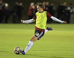 February 20, 2019 - Sheffield, United Kingdom - Maddy Cusack (Sheffield United) warms up before the  FA Women's Championship football match between Sheffield United Women and Manchester United Women at the Olympic Legacy Stadium, on February 20th Sheffield, England. (Credit Image: © Action Foto Sport/NurPhoto via ZUMA Press)