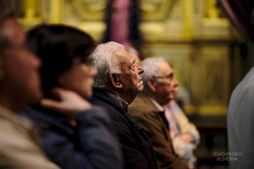 The Foot Washing mass at Braga's Cathedral, held on on Holy Thursday, during Semana Santa