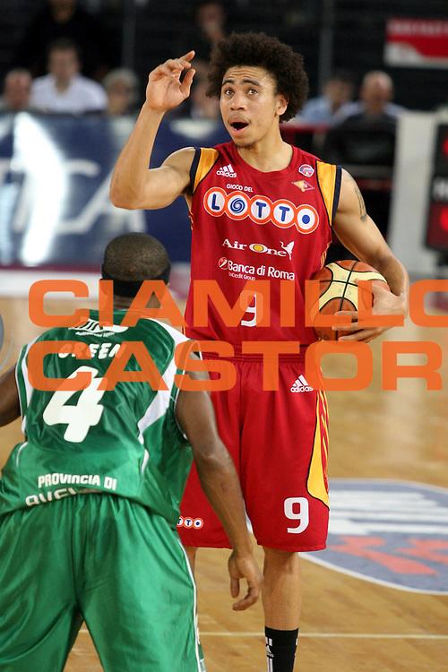 DESCRIZIONE : Roma Lega A1 2007-08 Playoff Semifinale Gara 3 Lottomatica Virtus Roma Air Avellino<br />GIOCATORE : Ibrahim Jaaber<br />SQUADRA : Lottomatica Virtus Roma<br />EVENTO : Campionato Lega A1 2007-2008 <br />GARA : Lottomatica Virtus Roma Air Avellino<br />DATA : 27/05/2008 <br />CATEGORIA : Schema<br />SPORT : Pallacanestro <br />AUTORE : Agenzia Ciamillo-Castoria/G.Ciamillo
