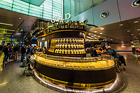 Au Gold Boutique at Qatar Duty Free Shops,Hamad International Airport, Doha, Qatar.
