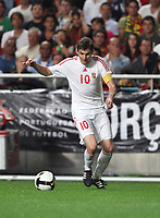 20091010: LISBON, PORTUGAL - Portugal vs Hungary: World Cup 2010 Qualifying Match. In picture: Zoltan Gera. PHOTO: Carlos Rodrigues/CITYFILES