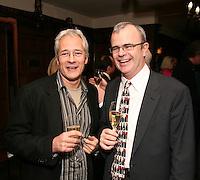 Jeremy Lascelles and Richard Griffiths