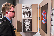 Peter Kennard: Unofficial War Artist - Retrospective Exhibition of British Political and anti-war artist at IWM London, UK 12 May 2015
