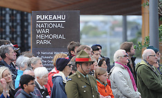 Wellington-Official opening of Pukeahu National War Memorial Park