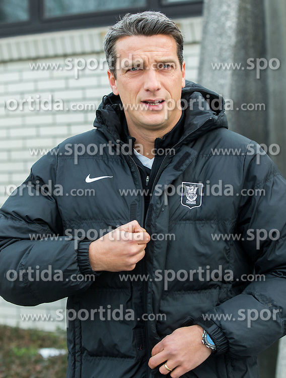 Mile Acimovic, sports director prior to the first practice session of football club NK Olimpija after winter holidays, on January 8, 2015 in Stadium ZAK, Ljubljana, Slovenia. Photo by Vid Ponikvar / Sportida