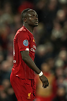 Football - 2019 / 2020 UEFA Champions League - Round of Sixteen, Second Leg: Liverpool (0) vs. Atletico Madrid (1)<br /> <br /> Liverpool's Sadio Mane, at Anfield.<br /> <br /> <br /> COLORSPORT/TERRY DONNELLY
