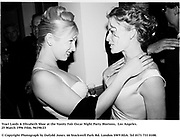 Traci Lords & Elizabeth Shoe at the Vanity Fair Oscar Night Party Mortons,  Los Angeles. 25 March 1996<br /> <br /> © Copyright Photograph by Dafydd Jones<br /> 66 Stockwell Park Rd. London SW9 0DA<br /> Tel 0171 733 0108. Film 96198/23
