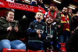 Liverpool fans - Mandatory by-line: Robbie Stephenson/JMP - 11/03/2020 - FOOTBALL - Anfield - Liverpool, England - Liverpool v Atletico Madrid - UEFA Champions League Round of 16, 2nd Leg