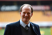 Preston North End manager Simon Grayson during the Sky Bet Championship match between Wolverhampton Wanderers and Preston North End at Molineux, Wolverhampton, England on 13 February 2016. Photo by Alan Franklin.