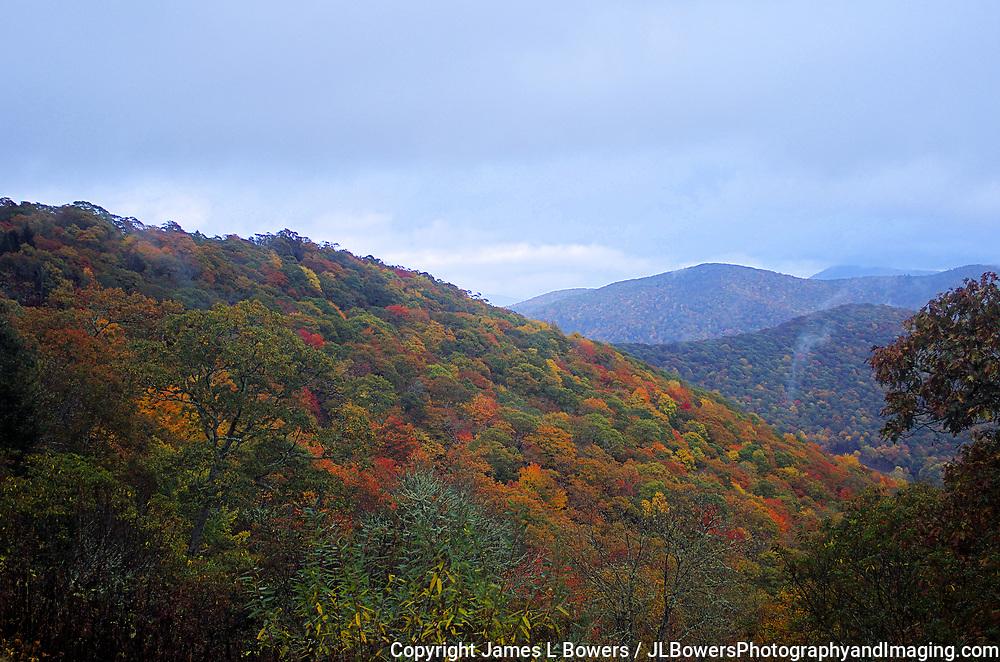 High Mountain Autumn Storm Coming