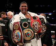 Anthony Joshua v Joshua Parker - 31 MArch 2018