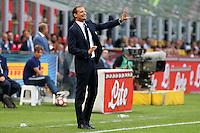 Milano - 18.09.2016 - Serie A 2016-17 - 4a giornata - Inter-Juventus - Nella foto: Massimiliano Allegri allenatore della Juventus