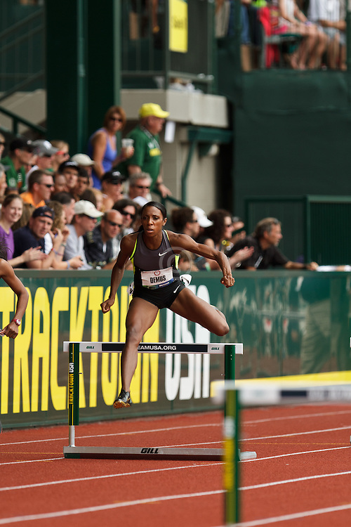 2012 USA Track & Field Olympic Trials: womens 400 hurdles, Lashinda Demus