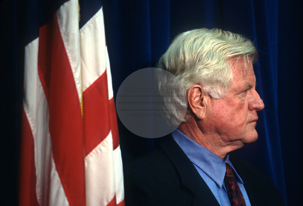 U.S. Senator Ted Kennedy during an event September 15, 1996 in Washington, DC.
