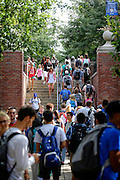 First day of class at the University of Kentucky on Wednesday August 24, 2016. Photo by Mark Cornelison