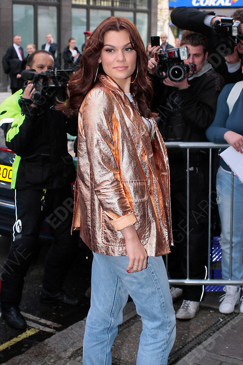 27.SEPTEMBER.2012. LONDON<br /> <br /> JESSIE J ARRIVING AT THE BBC RADIO ONE STUDIO IN  LONDON.<br /> <br /> BYLINE: EDBIMAGEARCHIVE.CO.UK<br /> <br /> *THIS IMAGE IS STRICTLY FOR UK NEWSPAPERS AND MAGAZINES ONLY*<br /> *FOR WORLD WIDE SALES AND WEB USE PLEASE CONTACT EDBIMAGEARCHIVE - 0208 954 5968*