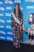 2018, Augustus 7. Pathe ArenA, Amsterdam. Nederlandse premiere van de film The Spy Who Dumped Me. Op de foto: Rahima Dirkse