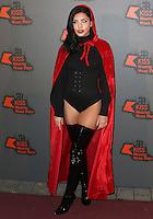 Cara De La Hoyde, Kiss FM Haunted House Party 2016 - VIP Arrivals, The SSE Arena Wembley, London UK, 27 October 2016, Photo by Brett Cove